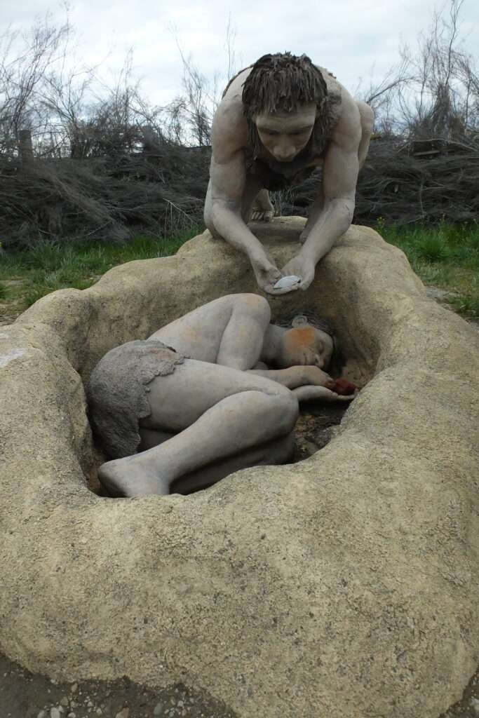 enterrament neandertal