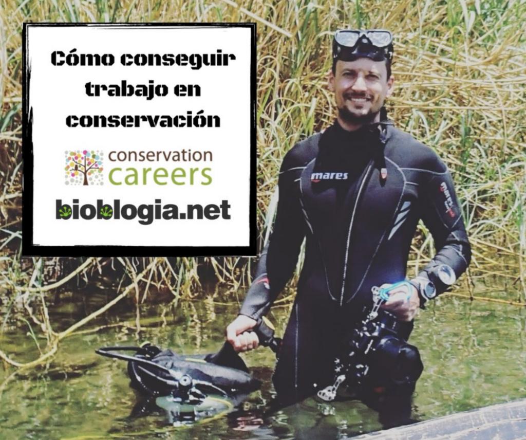 conservation careers kickstarter curso Fernando