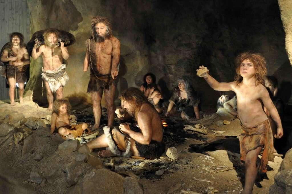 cueva familia neandertal