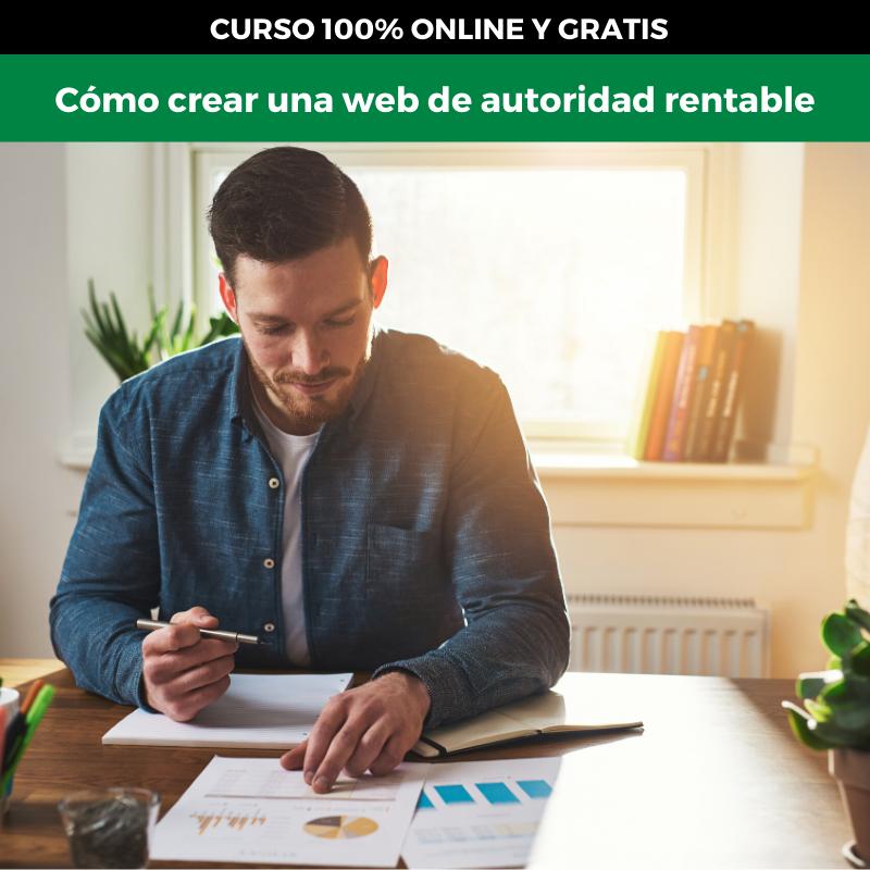 clase gratis para crear una web de afiliados ingresos extra dinero